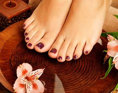 Oosterse Pedicure
